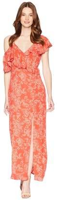 Amuse Society Midnight Flower Dress Women's Dress