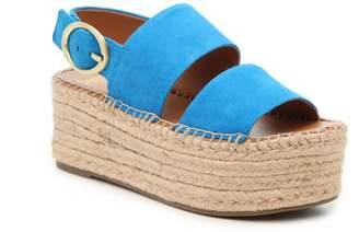 Franco Sarto Mariana Epsadrille Platform Sandal