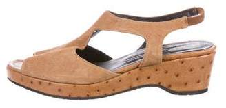 Donald J Pliner Suede Slingback Sandals