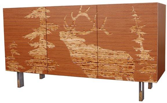Iannone Design - Teak Mod Lodge Sideboard