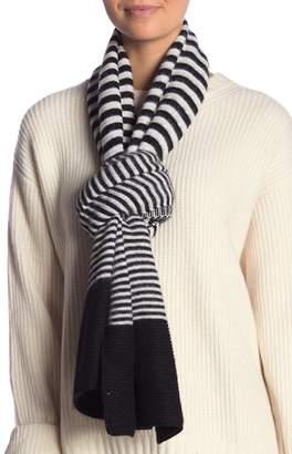 Collection XIIX Stripe Print Wrap Scarf