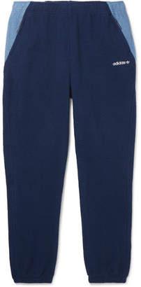 adidas Eqt Tapered Colour-Block Fleece Sweatpants