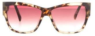 Paul Smith Tortoiseshell Gradient Sunglasses $95 thestylecure.com