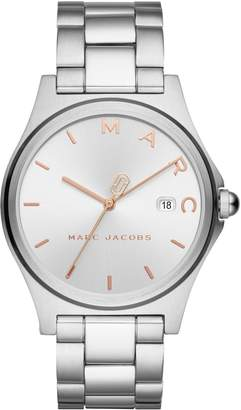 Marc by Marc Jacobs Henry Stainless-Steel Bracelet Watch