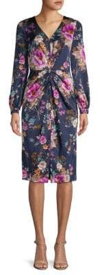 Maggy London Carmeuse Floral Dress