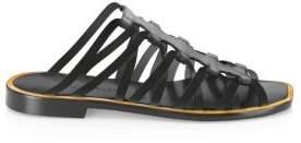 Altuzarra Strappy Leather Slides