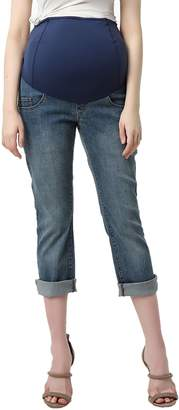 Kimi and Kai Jodie Crop Girlfriend Maternity Jeans