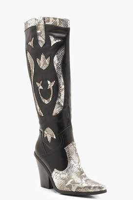 d807f7c27c boohoo Over The Knee Women's Boots - ShopStyle