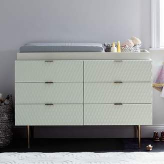 west elm Audrey 6-Drawer Changing Table