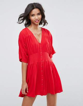 Asos Design Casual Tea mini dress