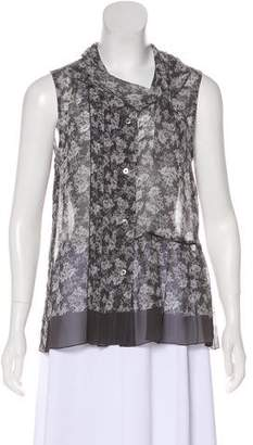 Marc Jacobs Floral Sleeveless Top