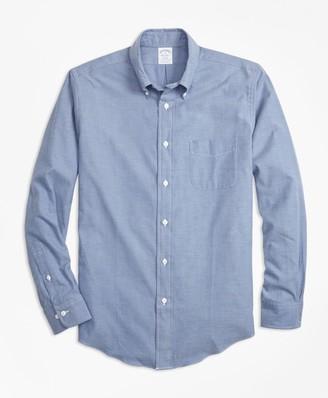 Brooks Brothers Regent Fit Luxury Flannel Sport Shirt
