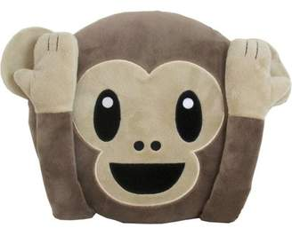 Generic Emoji Pillow, No Evil Monkey, Large