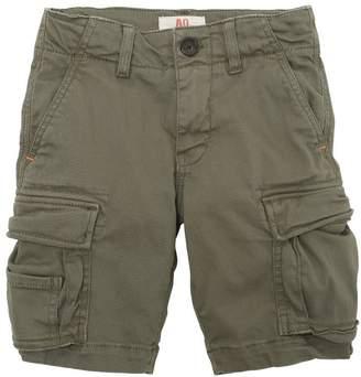 Stretch Cotton Twill Cargo Shorts