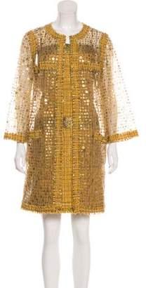 Chanel Embellished Tweed Dress Set