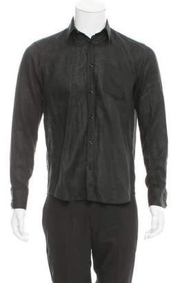 Vilebrequin Linen Button-Up Shirt