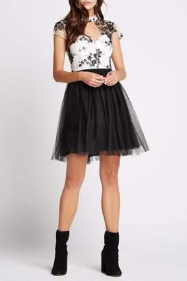 BCBGeneration Sleeve Cutout Dress