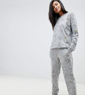 Asos Tall DESIGN Tall Lounge Frenchie Jogger