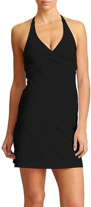 Athleta Tara Halter Swim Dress