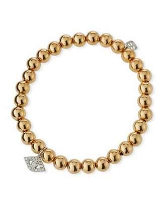 Sydney Evan 14k Two-Tone Gold & Diamond Eye Bracelet