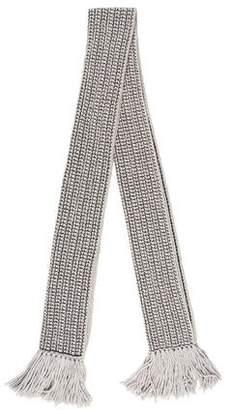 Diane von Furstenberg Knit Wool & Cashmere Scarf