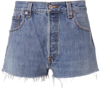 RE/DONE Denim Cut-Off Shorts