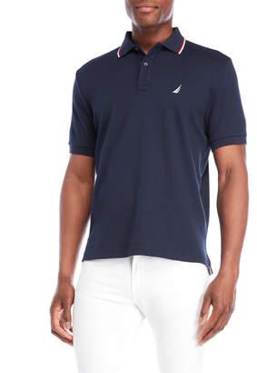 Nautica Collar Stripe Polo