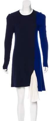 Vionnet Wool Long Sleeve Dress