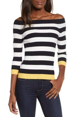 Bailey 44 Salty Dog Off the Shoulder Sweater