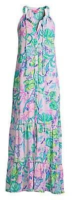 Lilly Pulitzer Women's Luliana Print Halter Maxi Dress