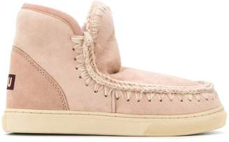 Mou lined interior ankle boots