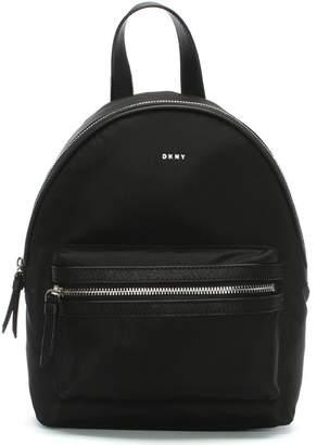 DKNY Medium Black Nylon Backpack