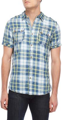 Buffalo David Bitton Salvyni Plaid Short Sleeve Shirt
