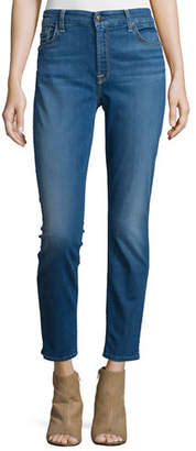7 For All Mankind Jen7 by Riche Touch Classic Skinny Ankle Jeans