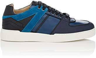 Paul Andrew MEN'S SVEN LEATHER & SUEDE SNEAKERS