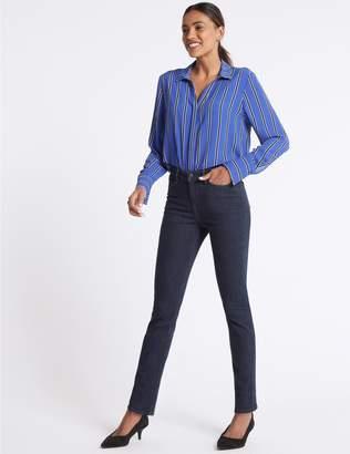 Marks and Spencer Mid Rise Slim Leg Jeans