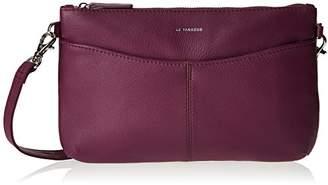 Le Tanneur Women's Valentine Clutch Purple
