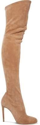 Casadei Suede Thigh Boots