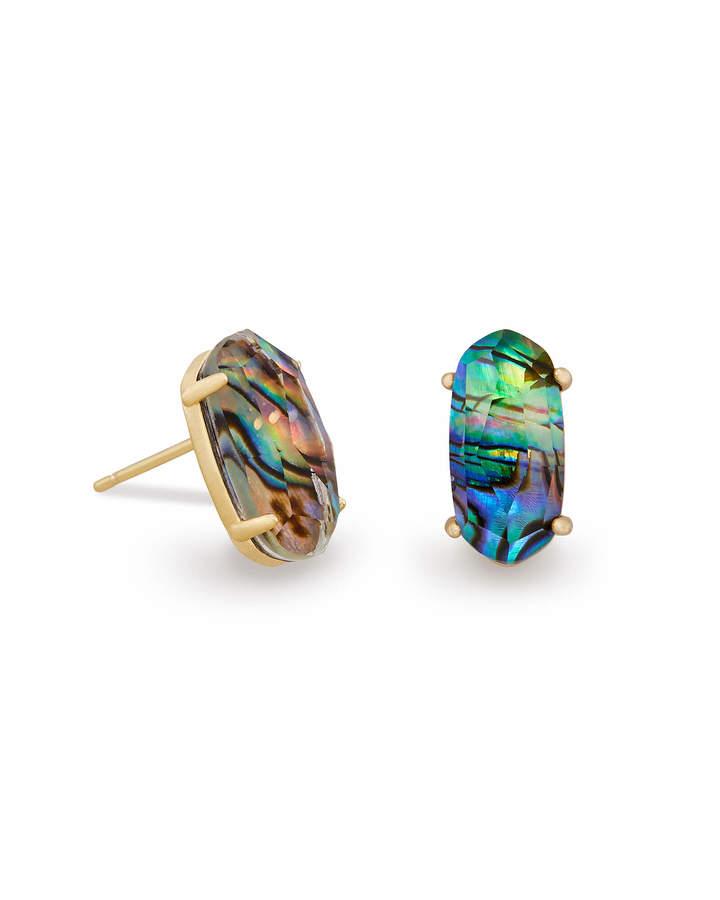 Kendra Scott Betty Stud Earrings in Gold