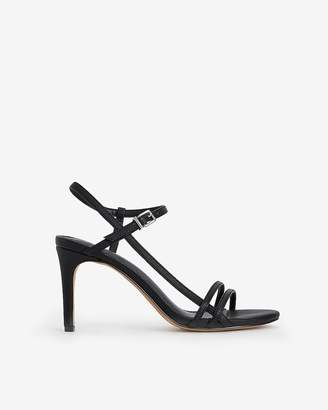 Express Side T-Strap Low Heeled Sandals