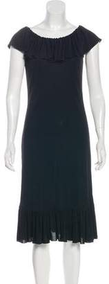 Celine Jersey Midi Dress