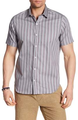 Jeff Grover Beach Stripe Regular Fit Shirt
