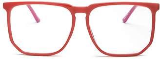 Quay Unisex Stranger Square Blue Light Glasses, 60mm