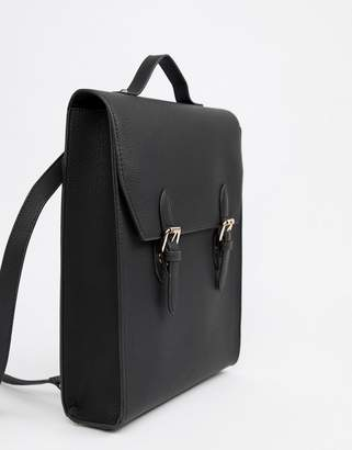 Asos DESIGN satchel backpack