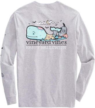 Vineyard Vines Zombie Whale Long-Sleeve Pocket T-Shirt