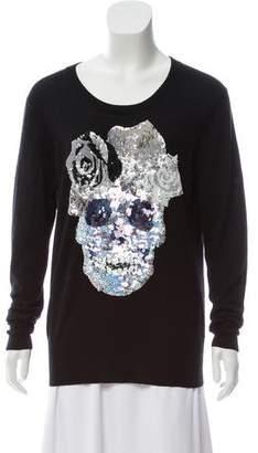 Markus Lupfer Embellished Wool Sweater