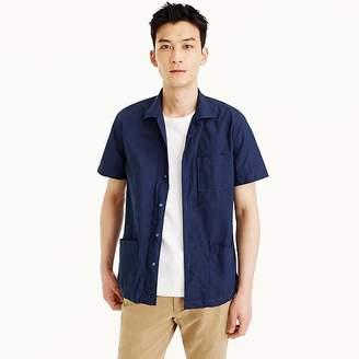 Wallace & Barnes short-sleeve three-pocket shirt