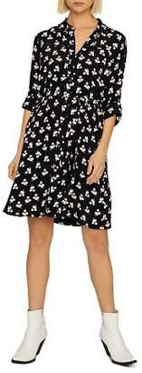 Sanctuary Etta Floral Belted Shirt Dress