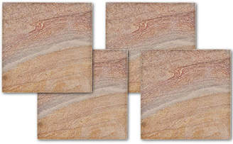Thirstystone COLLECTION Rainbow Stone Set of 4 Sandstone Coasters