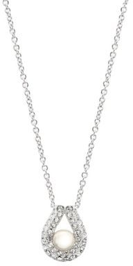Nadri Pearl Drop Pendant Necklace